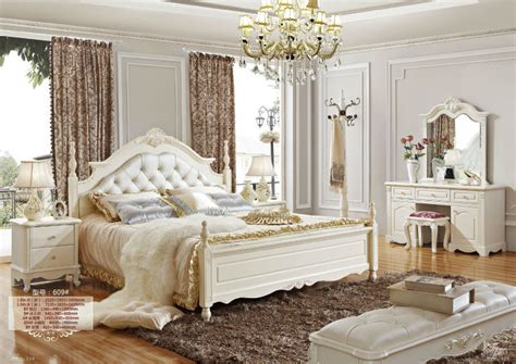 rococo bedroom set 5 luxury neo classic white bedroom furniture royal
