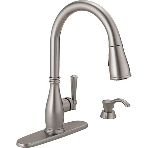 reviews of kitchen faucets 100 review of kitchen faucets shop moen kinzel spot