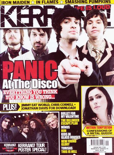 panic at the disco a picture with books panic at the disco images 2008 issue of kerrang hd