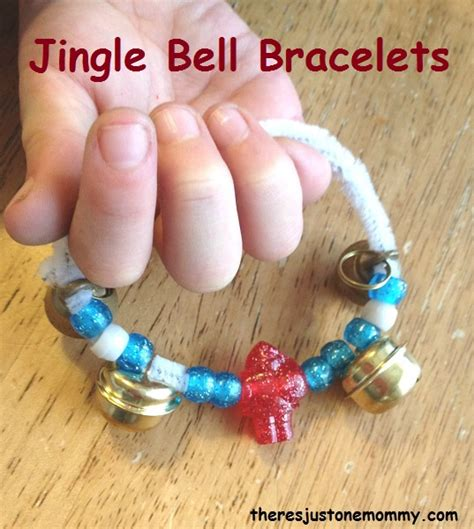 bell craft craft jingle bell bracelet there s just one