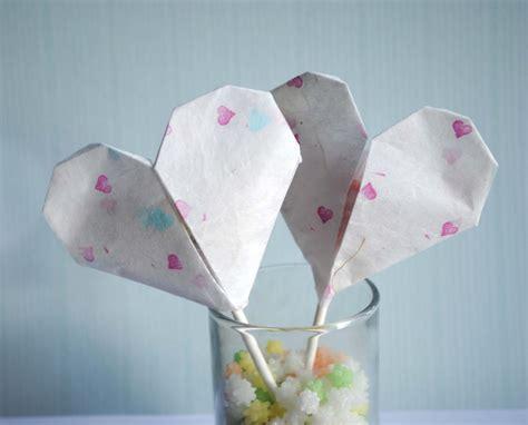 origami valentines zakka craft origami valentines