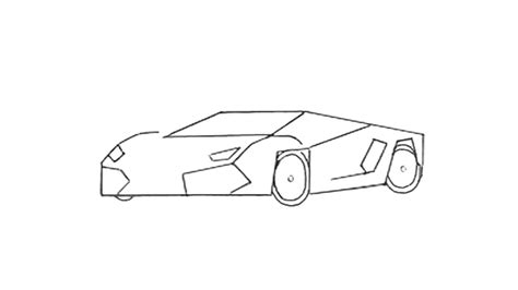 how to draw a car 8 steps with pictures wikihow how to draw a sports car step by step