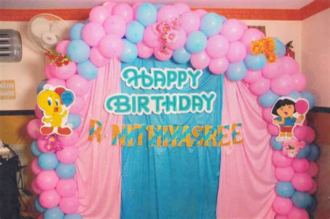 birthday decoration images at home balloon decorators chennai balloon decorations chennai
