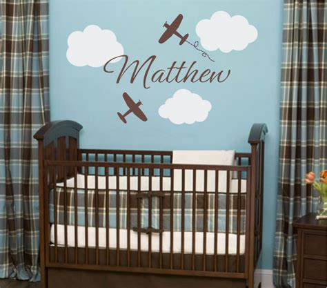 nursery wall stickers for baby boy bedroom using baby boy wall decals for nursery interior