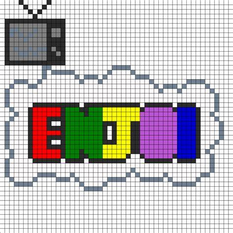 perler patterns printables enjoi perler bead pattern bead sprites misc fuse bead