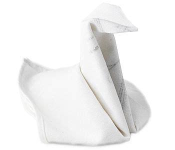 origami napkin swan swan cloth napkin fold fold my napkin