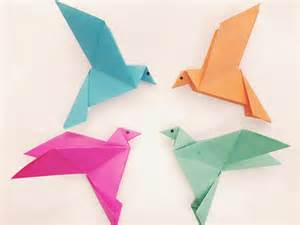 paper bird origami how to make a paper bird easy origami