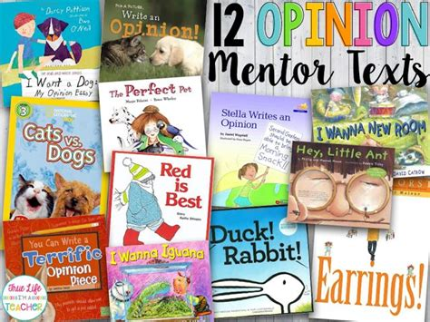 picture books to teach fact and opinion best 25 writing mentor texts ideas on text