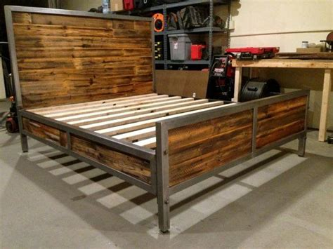 steel framed beds best 25 pipe bed ideas on industrial bed