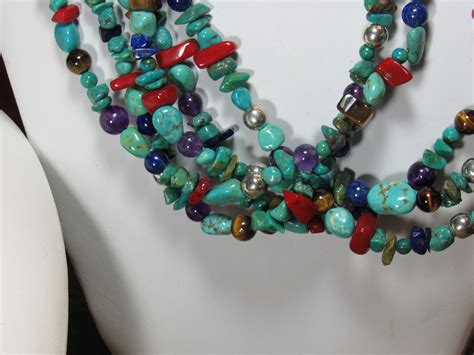 navajo beaded necklace authentic southwest navajo beaded necklace