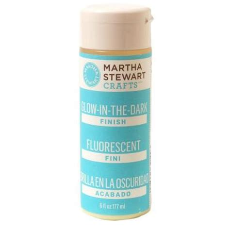 home depot paint glow in the martha stewart crafts 6 oz glow in the craft paint