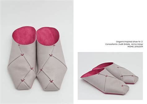 origami shoes origami shoes on behance