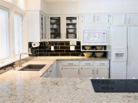 white kitchen countertop ideas white granite kitchen countertops pictures ideas from hgtv hgtv