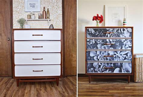 diy decoupage dresser diy furniture update an dresser with a photograph
