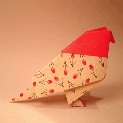 simple origami bird paper bird how to make a traditional bird origami