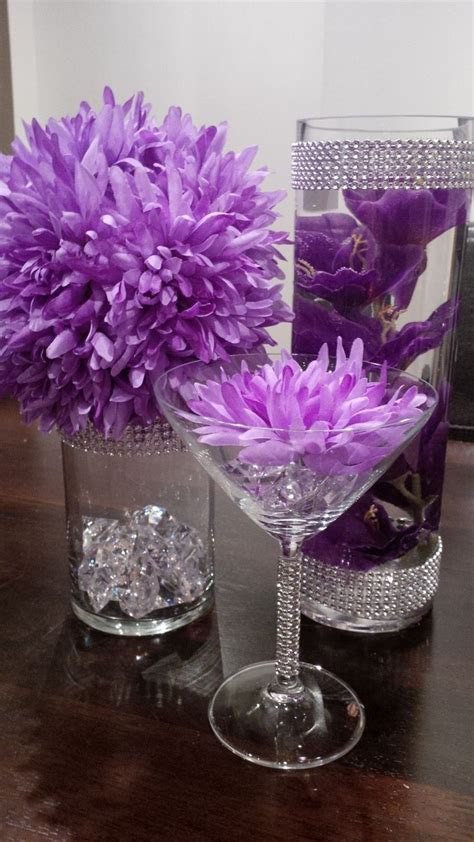 orange and purple decorating ideas 25 best ideas about diy centerpieces on