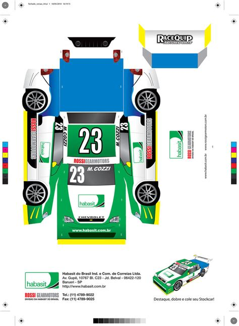 car paper craft carro papercraft stock car by pedrojovelli on deviantart