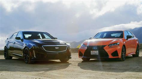 Cadillac Vs Lexus by Hilarious Cadillac Cts V Vs Lexus Gs F Comparison Says