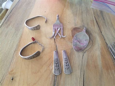 make jewelry from silverware how to make silverware jewelry