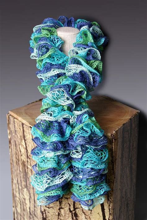 how to knit a sashay scarf step by step pdf pattern file crocheted ruffle scarf pattern scarf