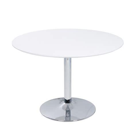 table basse ronde blanche pas cher valdiz