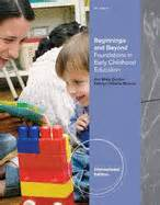 beginnings beyond foundations in early childhood education beginnings and beyond foundations in early childhood