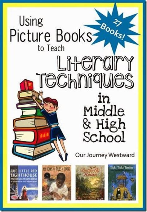 picture books with alliteration literary technique language and student on