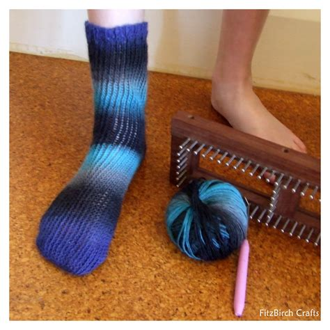 Fitzbirch Crafts Loom Knit Socks