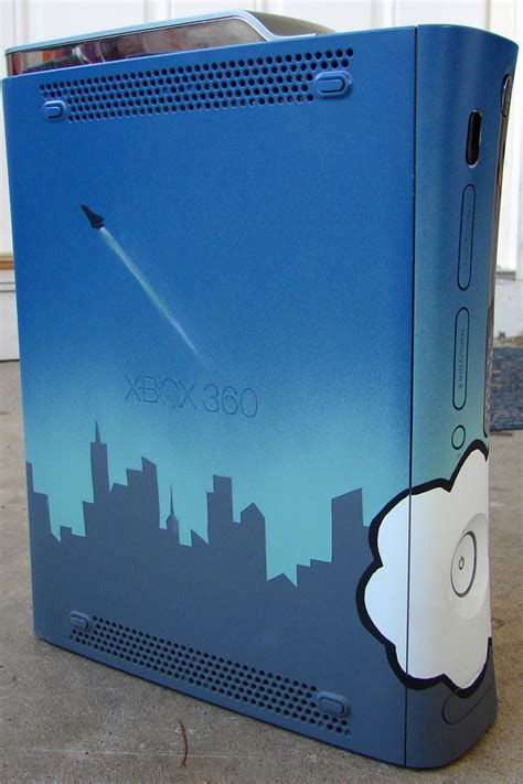 spray paint xbox dcemulation view topic painted my xbox 360