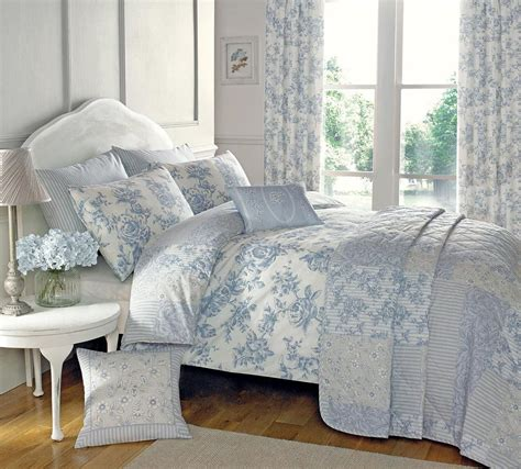 uk comforter sets malton bedding set in blue free uk delivery terrys fabrics