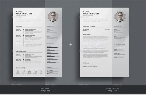 resume by themedevisers graphicriver