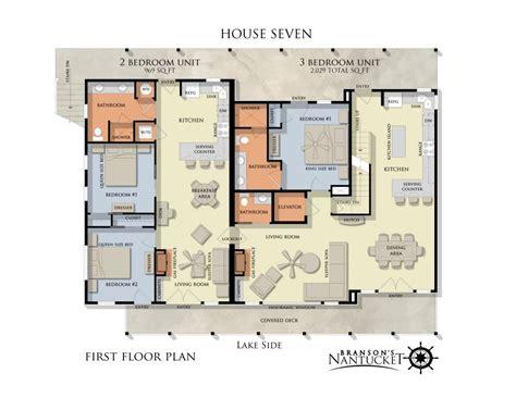 unit plans unit floor plans branson s nantucket