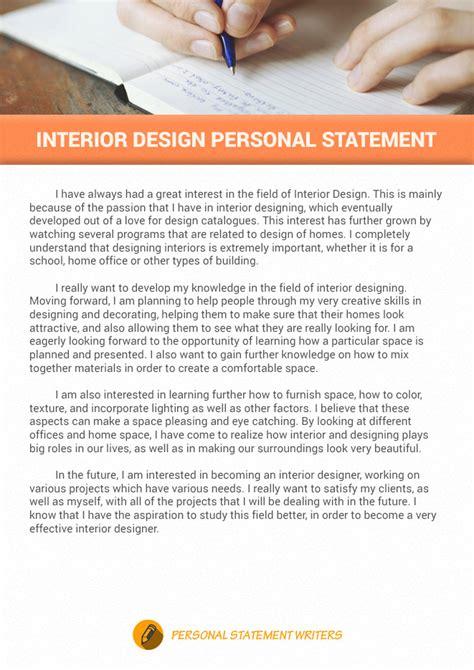 interior design personal statement interior design personal statement with creativity touch