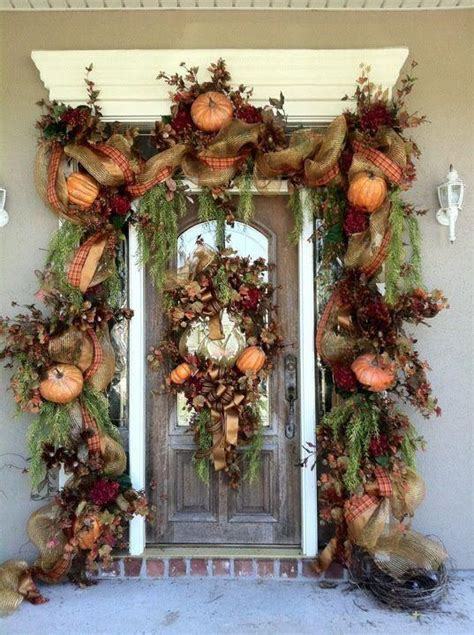 autumn front door decorating ideas 67 and inviting fall front door d 233 cor ideas digsdigs