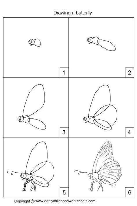 butterfly step by step easy drawings step by step butterfly search