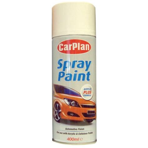 spray paint uk carplan white primer spray paint 400ml