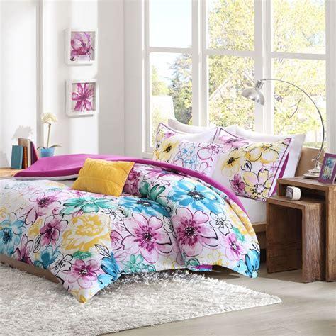 floral comforter set floral comforter set bed flowers pink