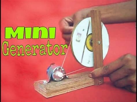 for to make at home how to make mini generator at home easy