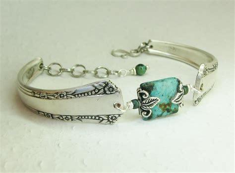 silver spoon jewelry silver spoon bracelet mar 1939 turquoise