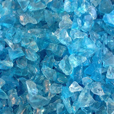 wholesale glass in bulk blue sea glass 10 lb bag bulk recycled tumbled