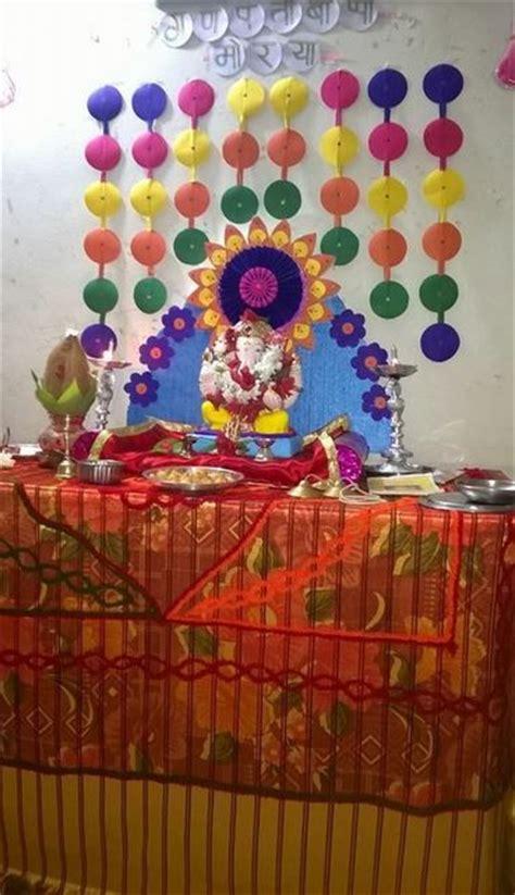 home decoration for ganesh festival 266 best decoration for pooja images on