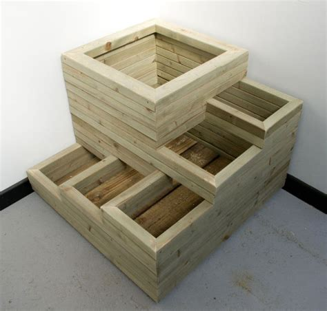 wooden planter boxes 25 best ideas about wooden planters on wooden