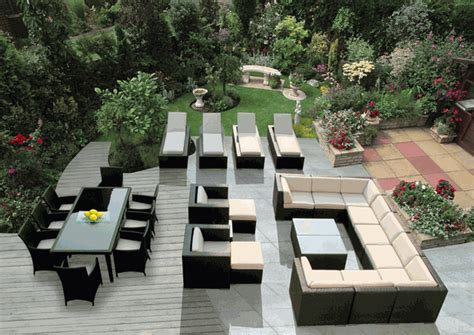 outdoor patio furniture set outdoor patio furniture wicker sofa dining and chaise