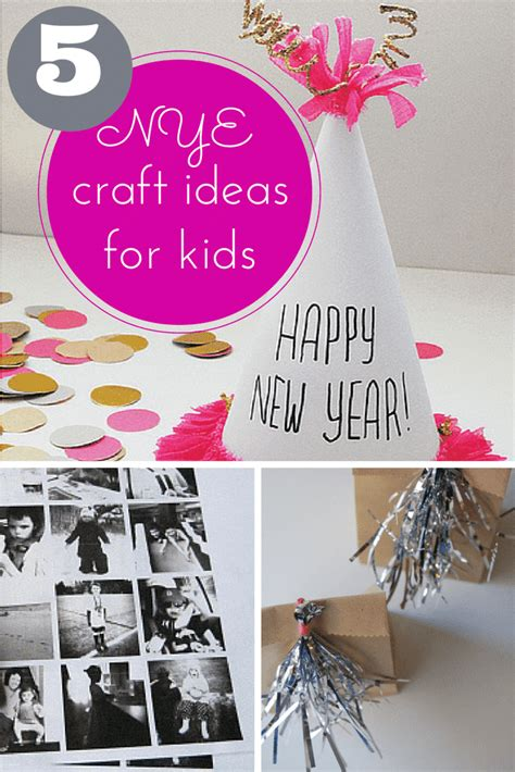 new years craft ideas for 5 fantastic new years craft ideas for