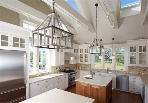 vaulted ceiling kitchen ideas vaulted ceiling lighting ideas creative lighting solutions