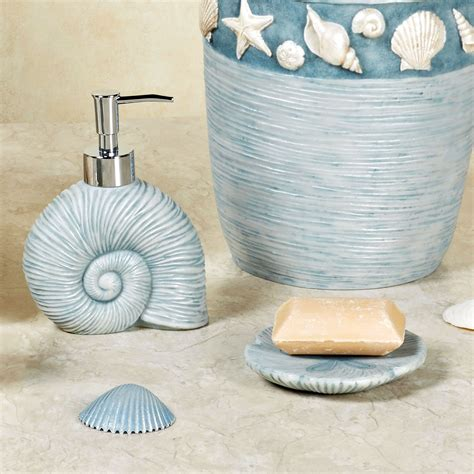 seashell bathroom accessories seashell bathroom d 233 cor
