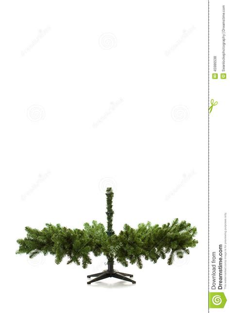 set up artificial tree tree being set up in 16 image series stock photo
