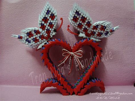 3d origami butterfly wedding jpg album nga 3d origami