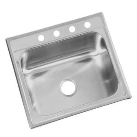 glacier bay kitchen sink glacier bay top mount 25x22x6 in 4 single bowl