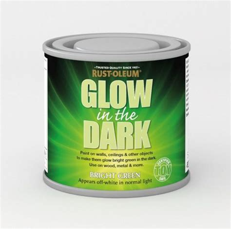 glow in the paint tesco buy rust oleum glow in the green brush on safe